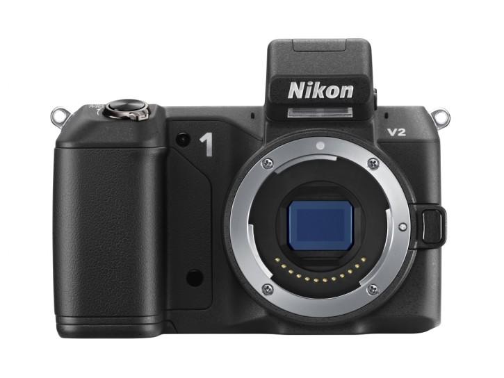 """Nikon setzt bei der 1 V2 auf den speziell entwickelten, 13,2 x 8,8 mm großen CMOS-Sensor im """"CX-Format""""."""