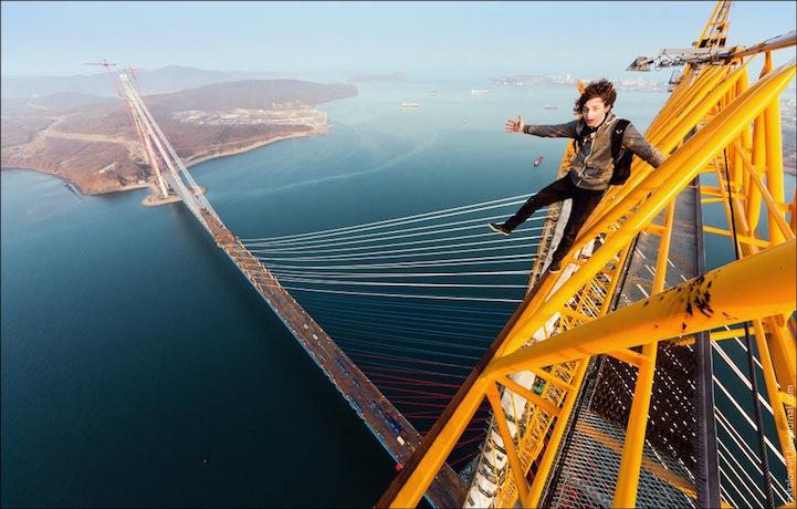 """""""Skywalking"""" in Russland (Foto: Vitaly Raskalov / raskalov-vit.livejournal.com)"""
